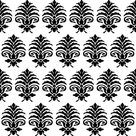 the vector seamless victorian background Vector