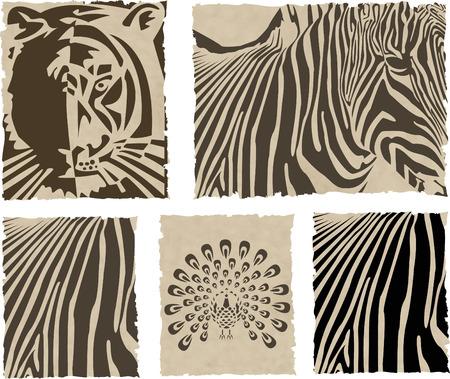 dobbin: the vector animal and skin set