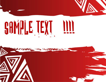 Grunge background with place for your text. Stock Vector - 6108919