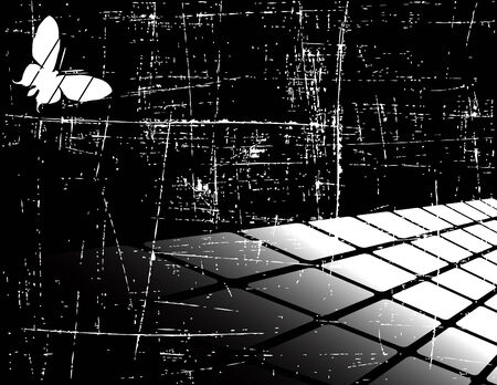 the black and white abstract background  Vector