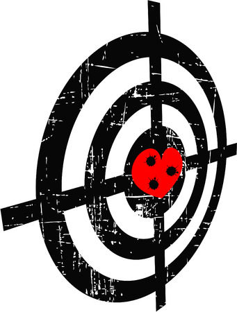 bullethole: the abstract grunge target
