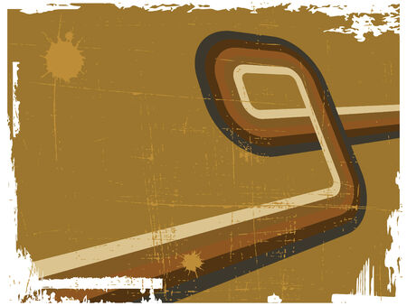 vanish: the brown abstract background  Illustration