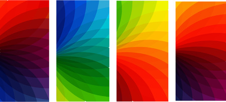 colorful banners set Vector