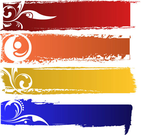 color banners set Stock Vector - 6337722