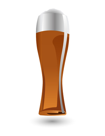 the vector glass of beer Stock Vector - 6481026