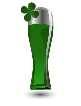 the vector glass of beer Stock Vector - 6481032