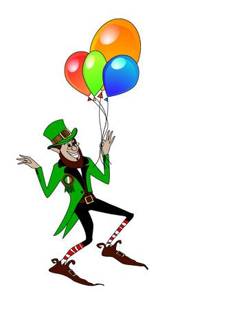 quarterfoil: the vector leprechaun