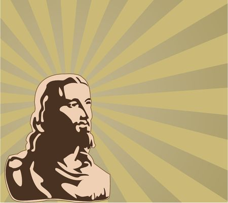 the  jesus Stock Vector - 6745292
