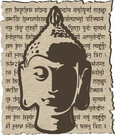 buddha head: the gold buddha