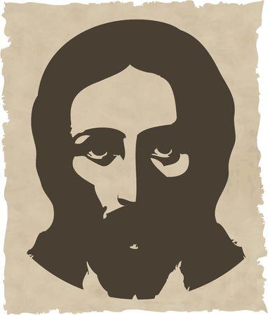 vormsel: de Jezus Stock Illustratie