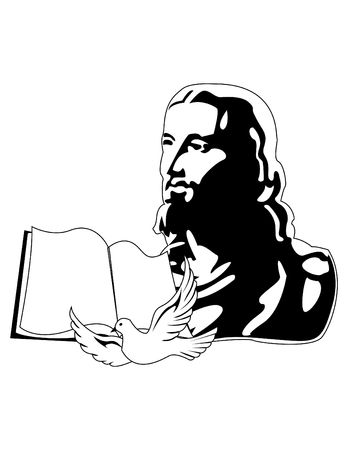 the jesus Stock Vector - 6745286