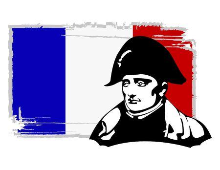 the Napoleon Bonaparte head Stock Vector - 6745624