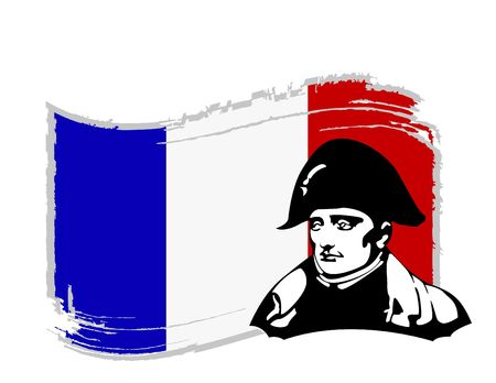 the Napoleon Bonaparte head Stock Vector - 6745628
