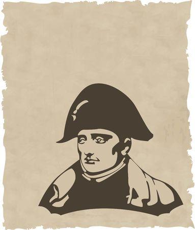 the Napoleon Bonaparte head  Stock Vector - 6746010