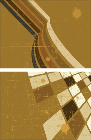 fragmentation: the brown abstract background set