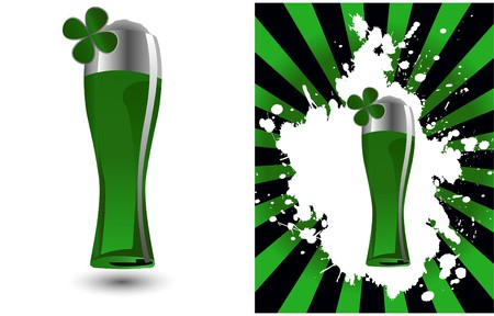 the glass of beer Stock Vector - 7001472