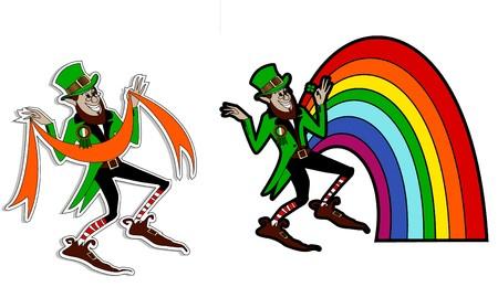 quarterfoil: the leprechaun  Illustration