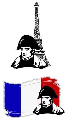 the Napoleon Bonaparte head Stock Vector - 7001434