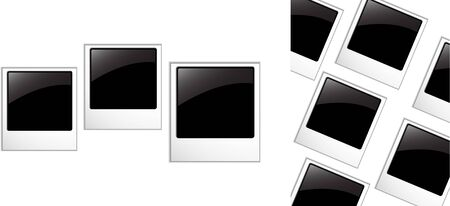 the  blank photos Vector