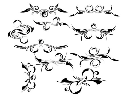 Set of patterns for design Stock Vector - 7001381