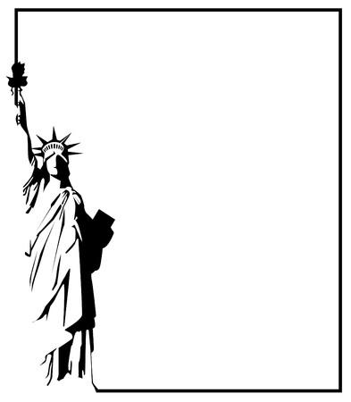 自由の女神像 eps 8