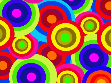 the vector abstract color background Vector
