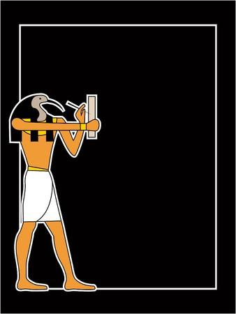 the egyptian god  Stock Vector - 7331830