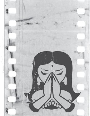 indian yoga: la ragazza indiana