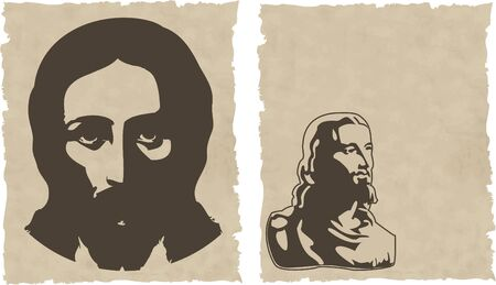 confirmacion: Jesus  Vectores