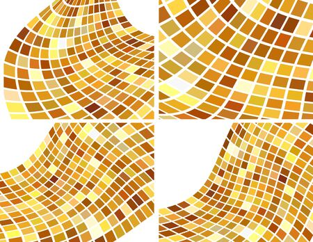 the golden abstract backgrounds set photo