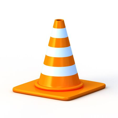 the 3d traffic cones photo
