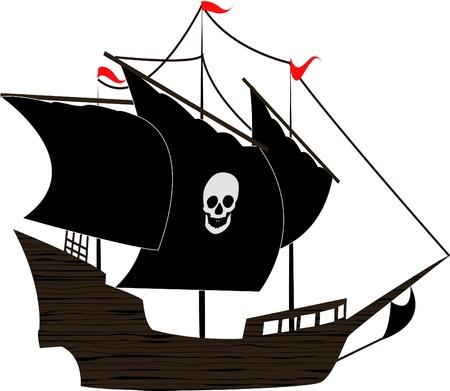 the Pirate sailboat photo