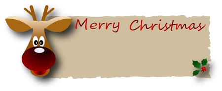 the  Christmas and New Year banner Stock Photo - 8576677