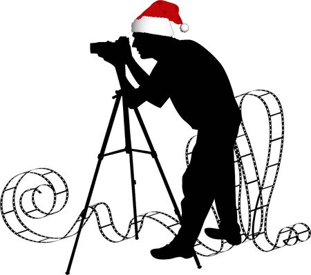 the vector Photographers silhouette photo