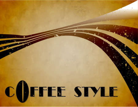 the  coffee style background  Stock Photo - 8576966