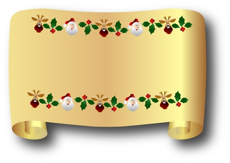 the vector Christmas and New Year banner photo