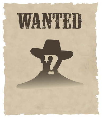 the vector wanted poster image Stock Vector - 8811334