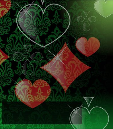 the vector abstract play card background Vector