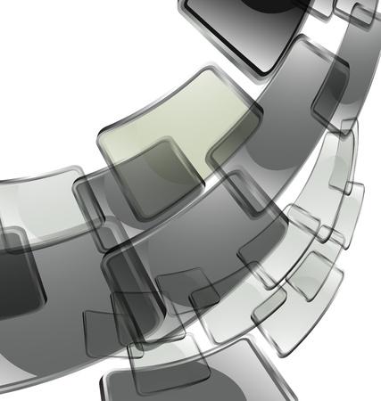 el fondo de color abstracta de vectores Foto de archivo - 8982944