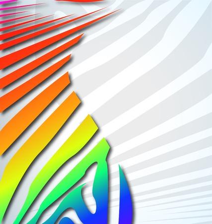 screen print: zebra astratto