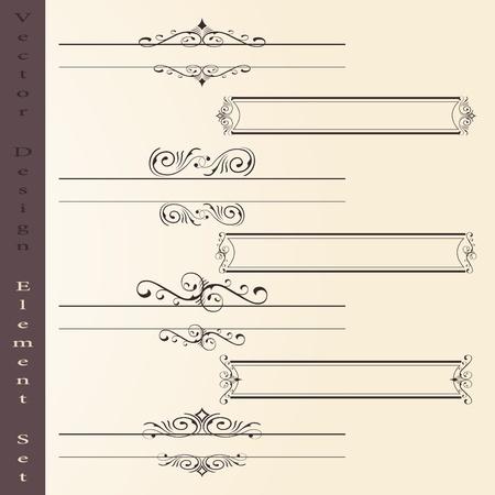 grecas: el conjunto de vector de elementos de diseño