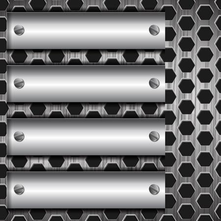 rivet: абстрактного металлический фон