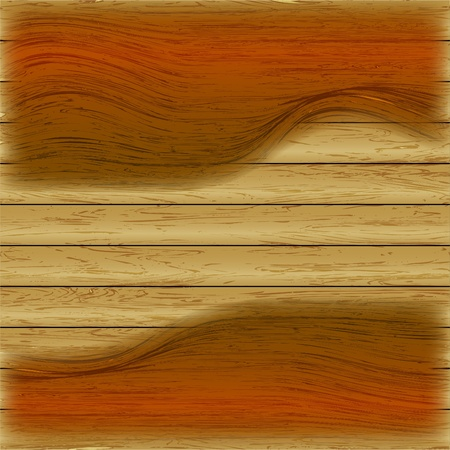 abstract vector wood background Vector