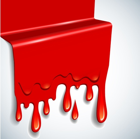 spilled: the abstract vector blood background