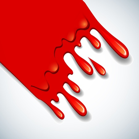 blood dripping: the abstract vector blood background