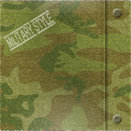 abstract camouflage pattern background - vector illustration Vector