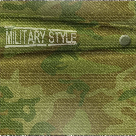 army background: abstract camouflage pattern background - vector illustration