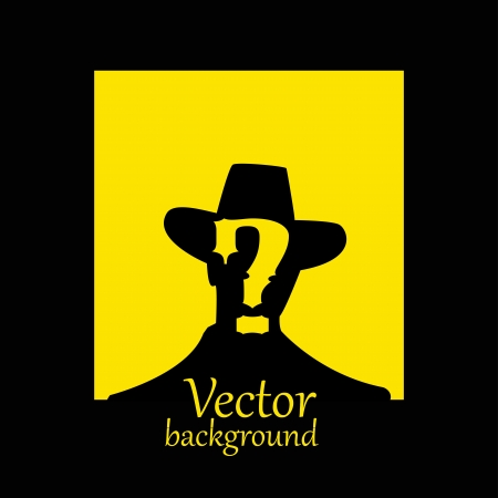 vector wanted poster image Illustration
