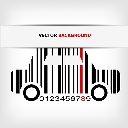 barcodes: Barcode image with red strip