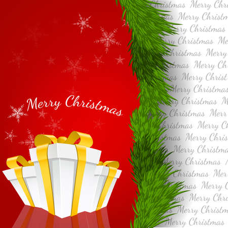 Abstract Christmas Background Vector Illustration eps 10 Stock Vector - 17348126